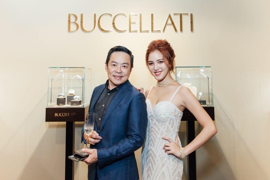 圖一、台北精緻外燴法國當代BBR創辦人傅天民(右)為義大利珠寶-BUCCELLATI-打造新品發表會