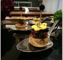 圖三、法式田螺蘑菇塔是常受老顧客指定的招牌菜