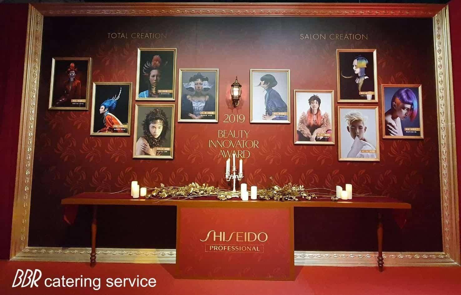 圖五、法國當代配合美妝保養品牌SHSEIDO活動主軸,完美重現18世紀法式宮廷風