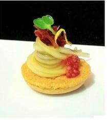 圖六、辣味馬卡龍相當罕見,是法國當代BBR獨家代理的特殊食材